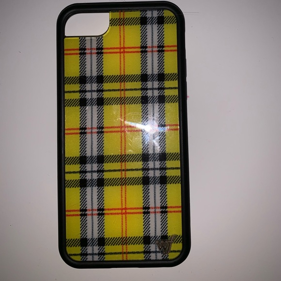 more photos 81325 f57d6 Wildflower Iphone 6/7/8 Case in Yellow Plaid